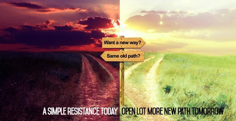 new path old path
